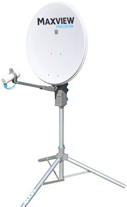 Sat Antenne MAXVIEW Precision 55 cm Alu Spiegel mit Single LNB