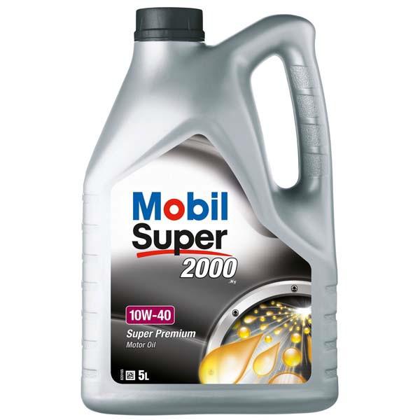 Mobil 1 Super 2000 X1 10W-40 5 Liter