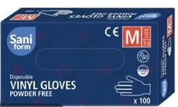 in.pro. medical Einweghandschuhe Vinyle Größe M (Sparset / 4 Pakete a. 100 Stück)