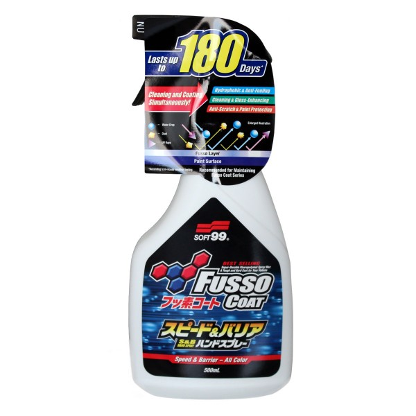 SOFT99 Fusso Coat Speed & Barrier 500 ml