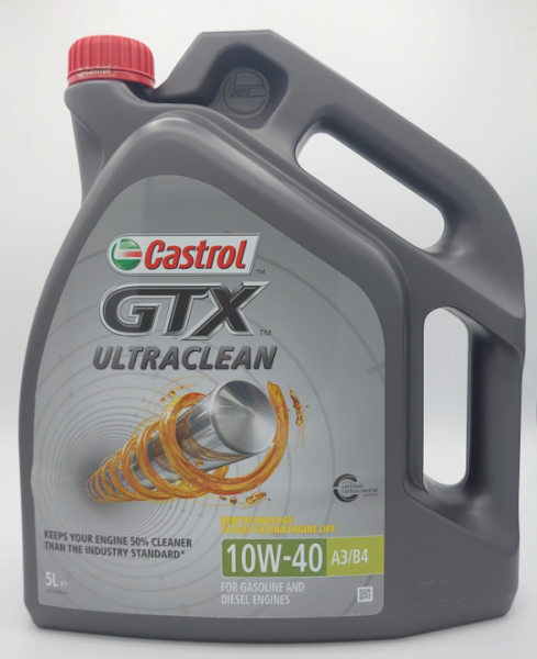 Castrol GTX Ultraclean 10W-40 A3/B4 5L