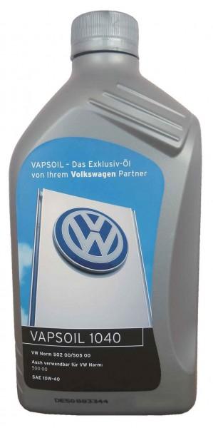 Motoröl VW, Audi, Skoda, SEAT / VW Norm 500 00 + 505.00/SAE 10W-40 1L