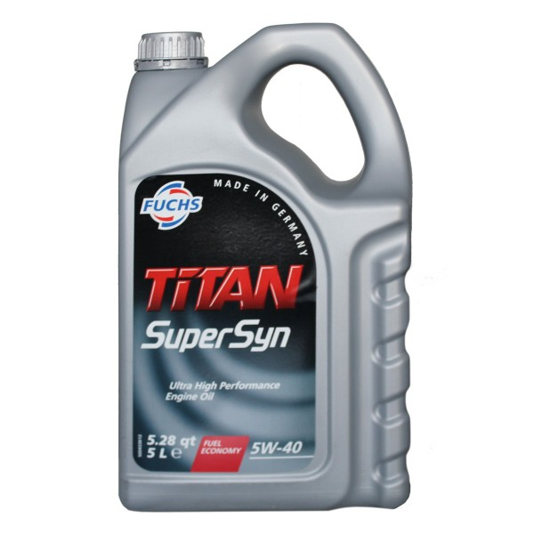 Fuchs Titan Supersyn 5W-40 5L