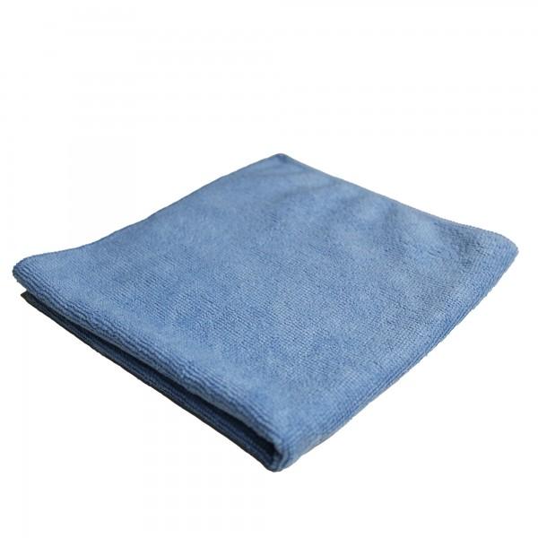 DuW Microfaser Tuch 35x35cm blau 220g/m² 10 Stück