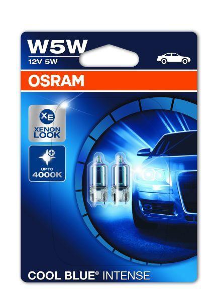 Osram Cool Blue Intense W5W 2er Blister