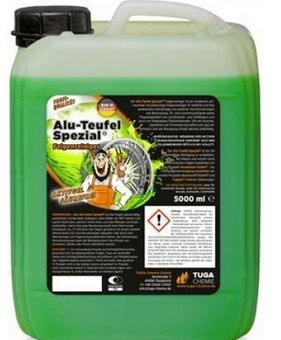 Tuga Alu-Teufel Spezial Felgenreiniger Kanister 5 Liter